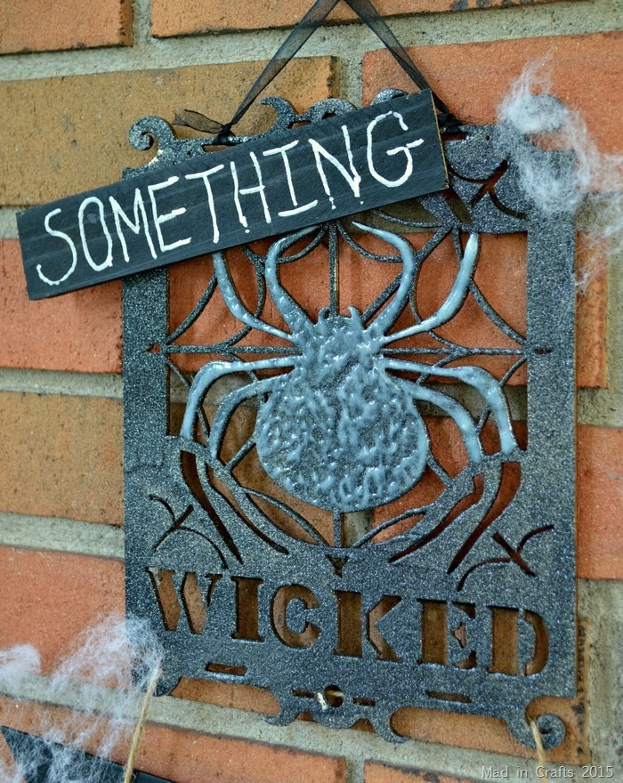 Something Wicked Sign