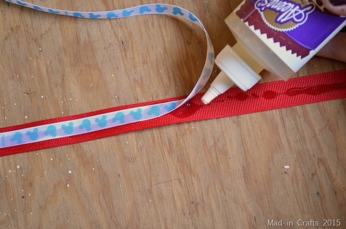glue together ribbons