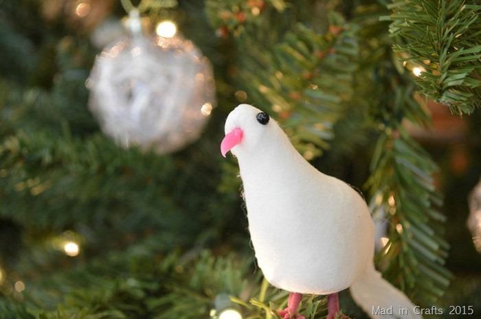 Dove Ornaments