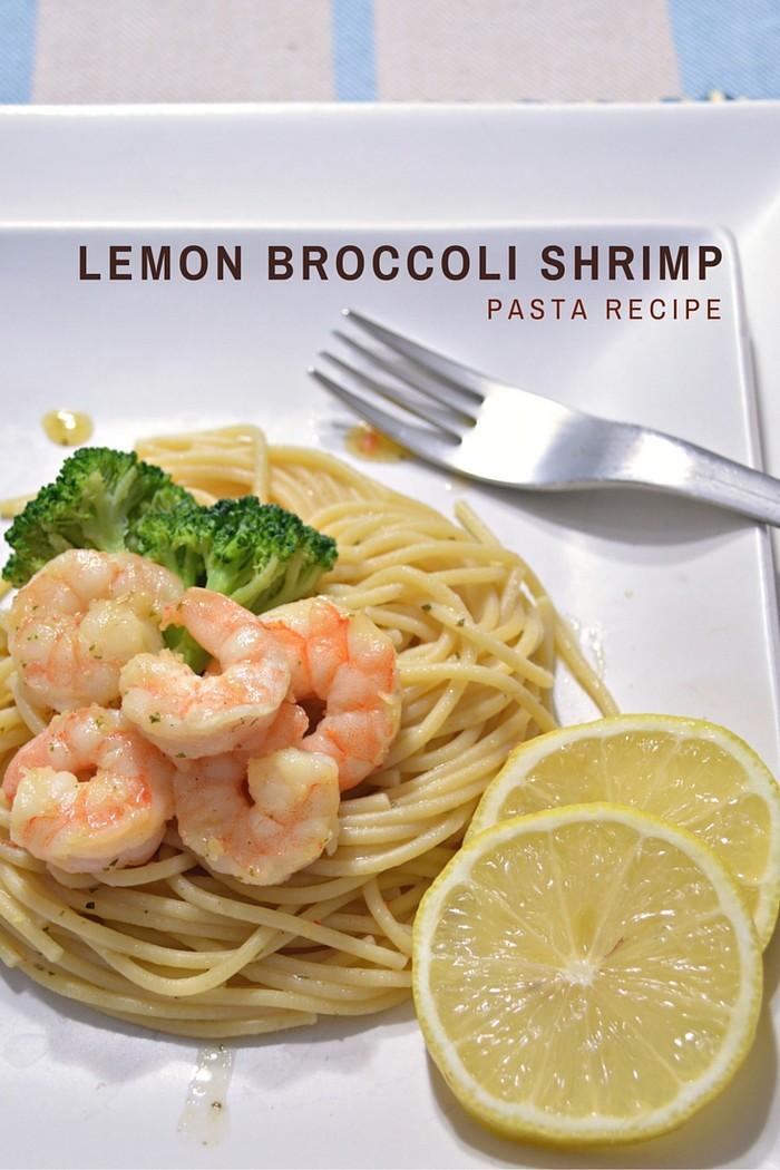 Lemon Broccoli Shrimp Pasta Recipe