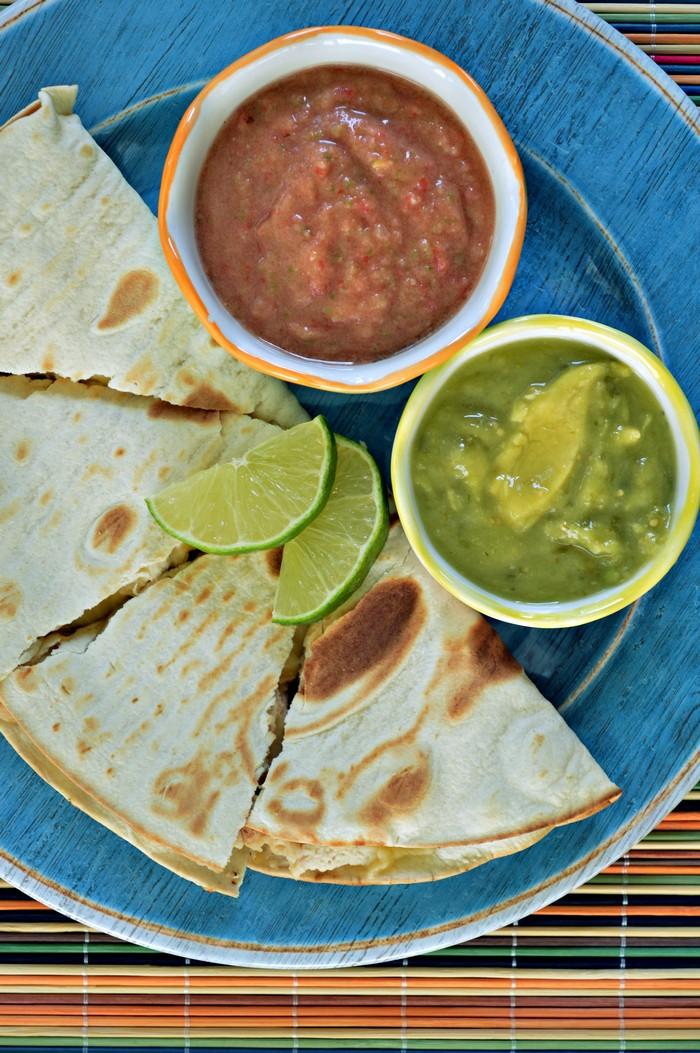 Quesadillas and Tangy Salsa Recipe
