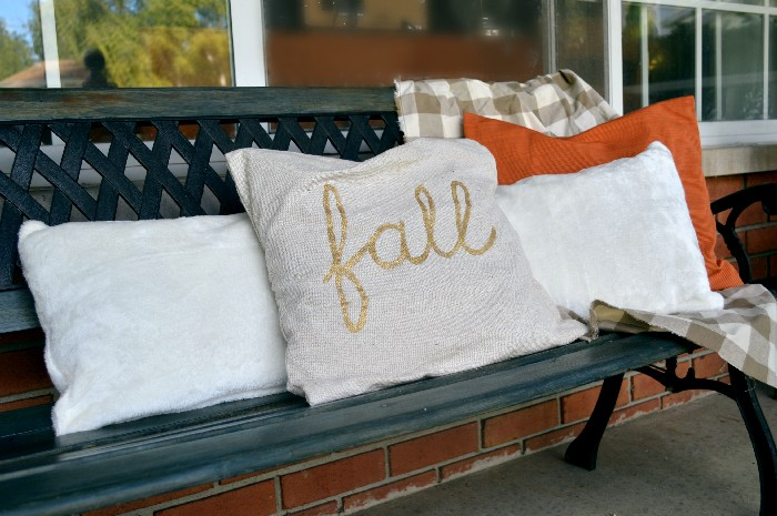 FAUX VELVET PILLOWS FROM DOLLAR STORE TOWELS