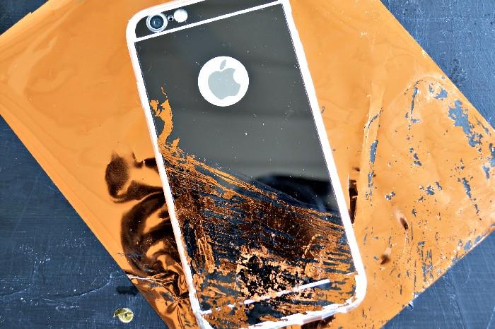 COPPER FOIL PHONE CASE