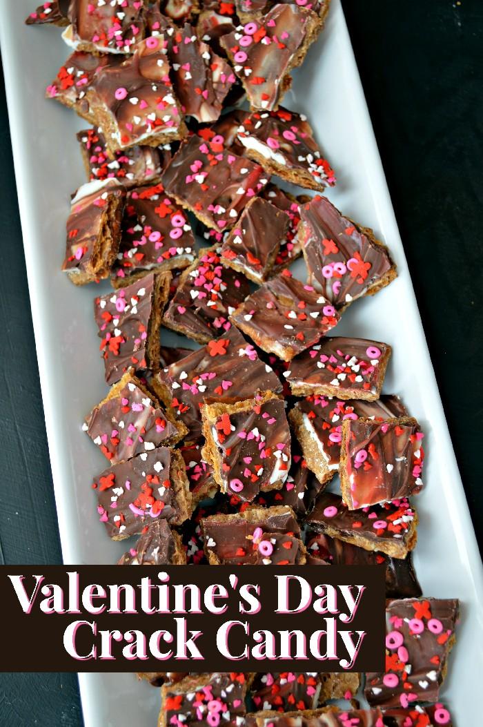 Valentine's Day Crack Candy Recipe
