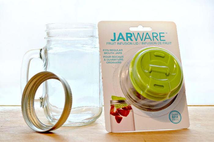 MASON JAR INFUSED WATER RECIPES