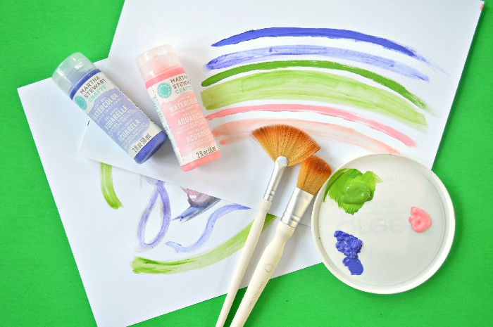 Martha Stewart Crafts Gel Watercolors First Impressions Mad In