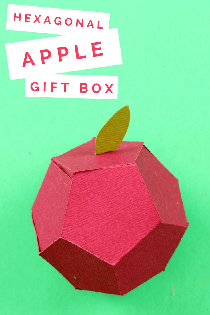 DIY HEXAGONAL APPLE BOX