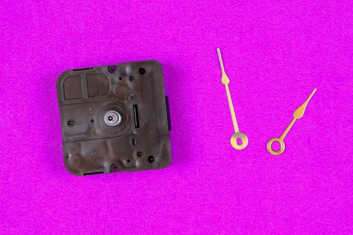 DIY clock parts