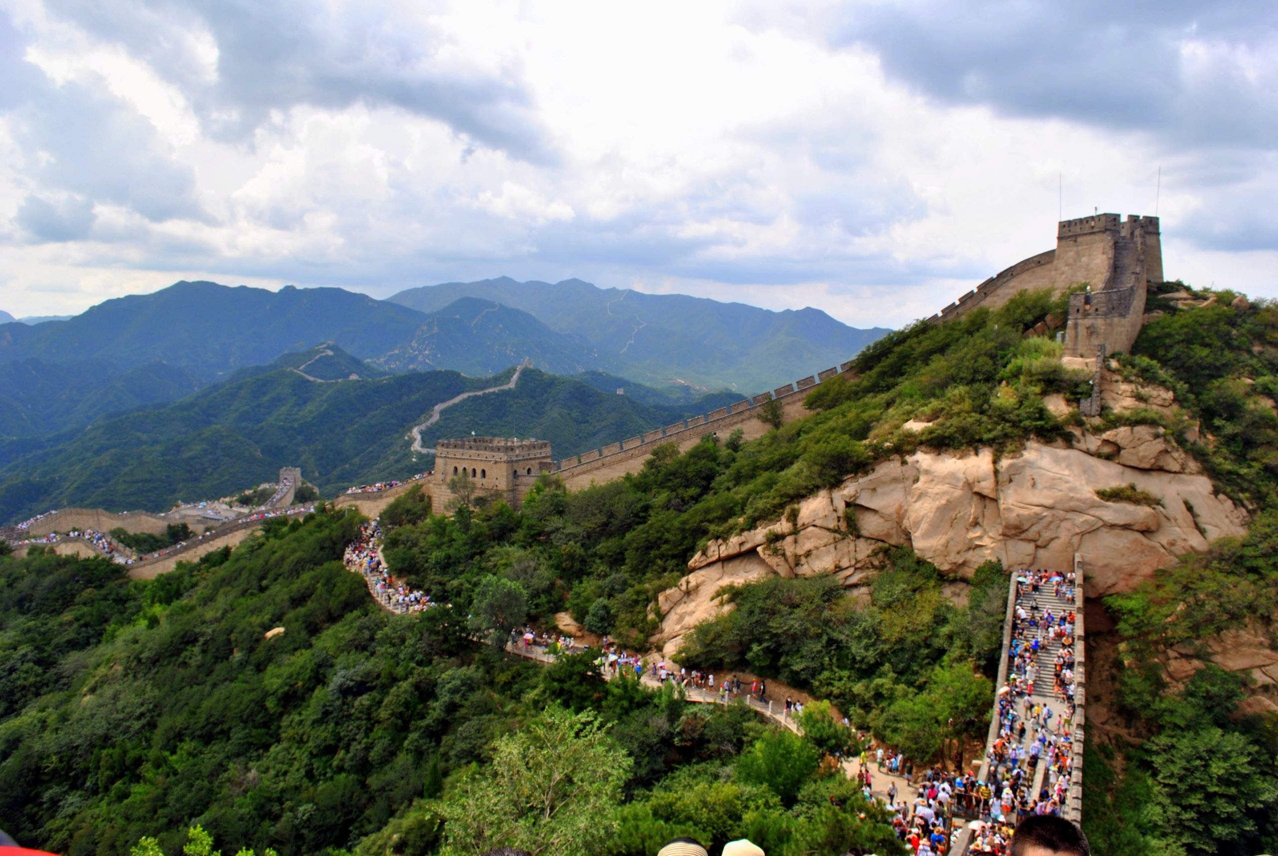 A view of the Great Wall
