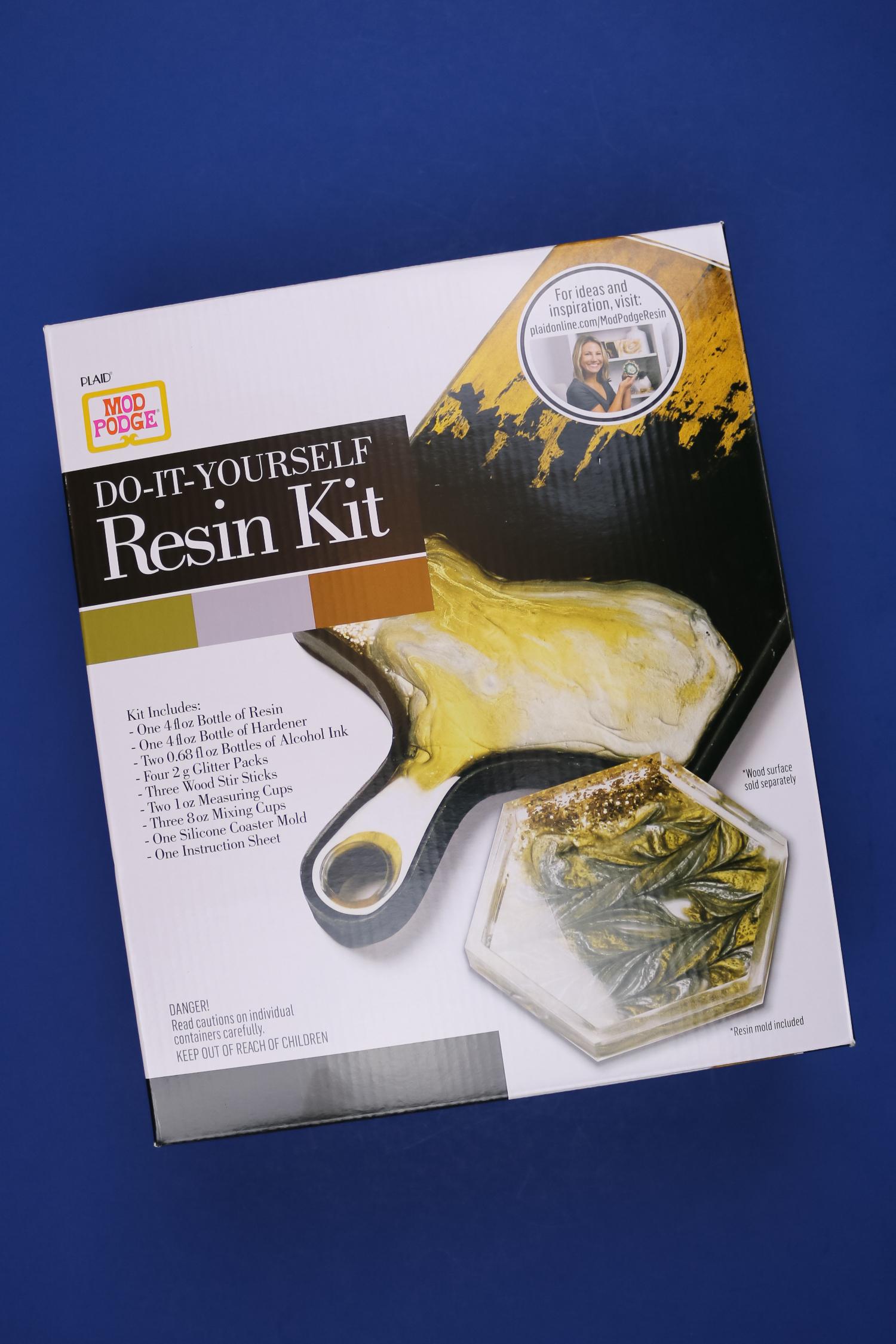 Mod Podge Resin Coaster Kit
