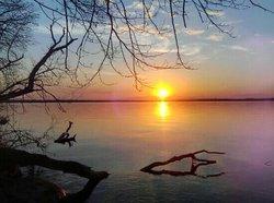 Sunset Lake Mendota Madison