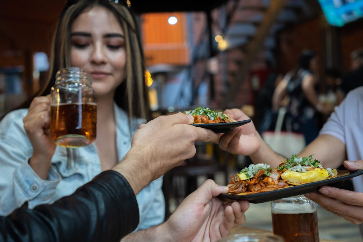 Mexican food photo licensed on Adobe Stock