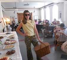 Cayla in 2012 Vintage Fashion -Tea