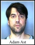 Adam M. Ast, 42, Syracuse, Criminal Possession of Marihuana 2nd degree, Unlawful Possession of Marijuana,  Criminal Possession of Controlled Substance 5th degree, Criminal Possession of Controlled Substance 7th degree