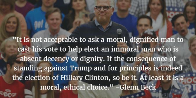 Glenn Beck Dumps Trump