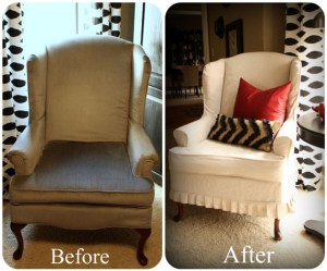Slipcovered-wingback-with-pleated-skirt-tutorial-1