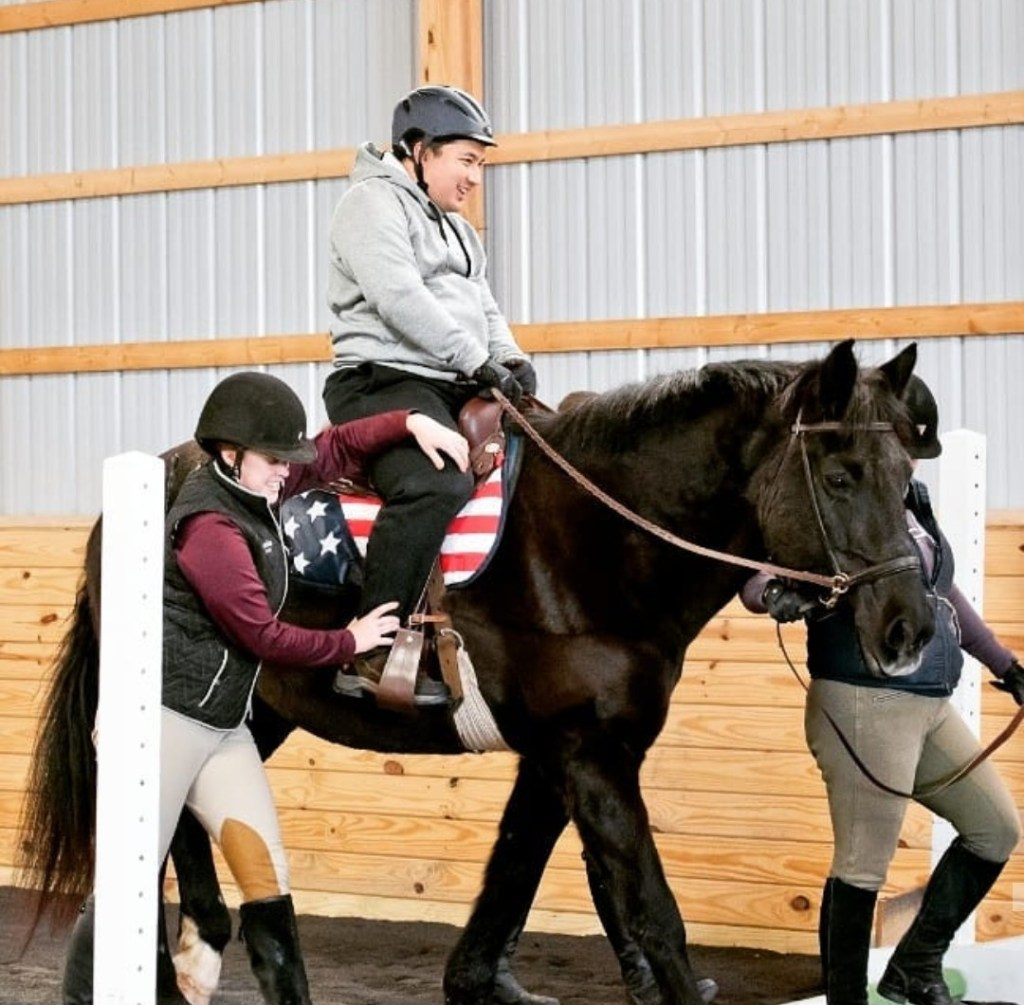 Therapeutic Riding   Behind the Scenes