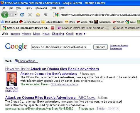 google-search-beck-story