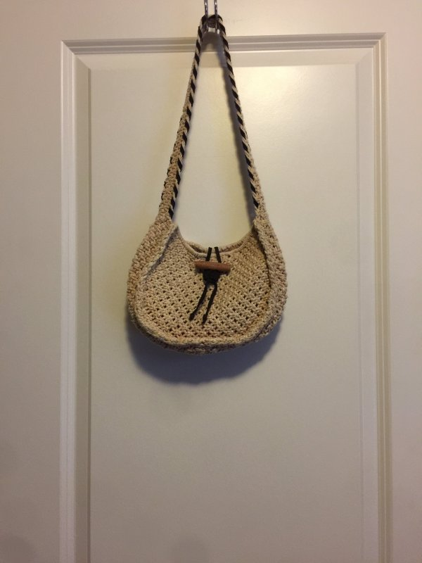 Abercrombie purse brown