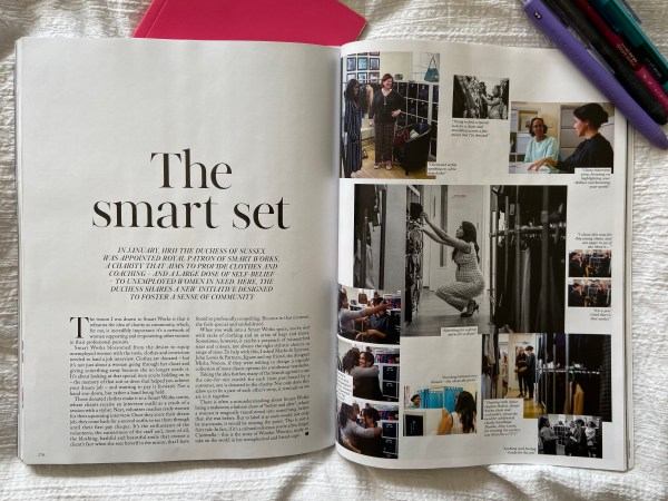 The Smart Set in British Vogue, September 2019 edited by HRH Meghan Markle the Duchess of Sussex