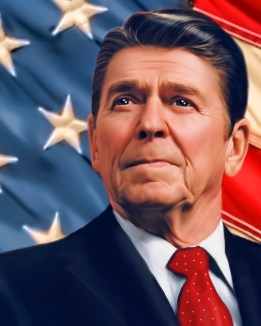 Reagan . President Ronald Reagan