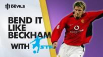 Man U . David Beckham