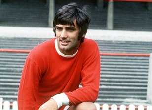Man U . George Best