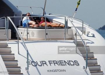 Rooney & wife in Ibiza, Spain