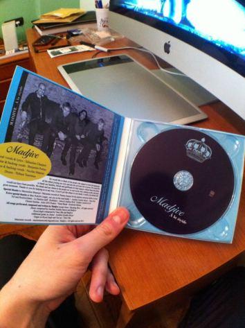 Album Madjive - À la royale - inside