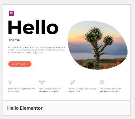 hello theme repository wordpress