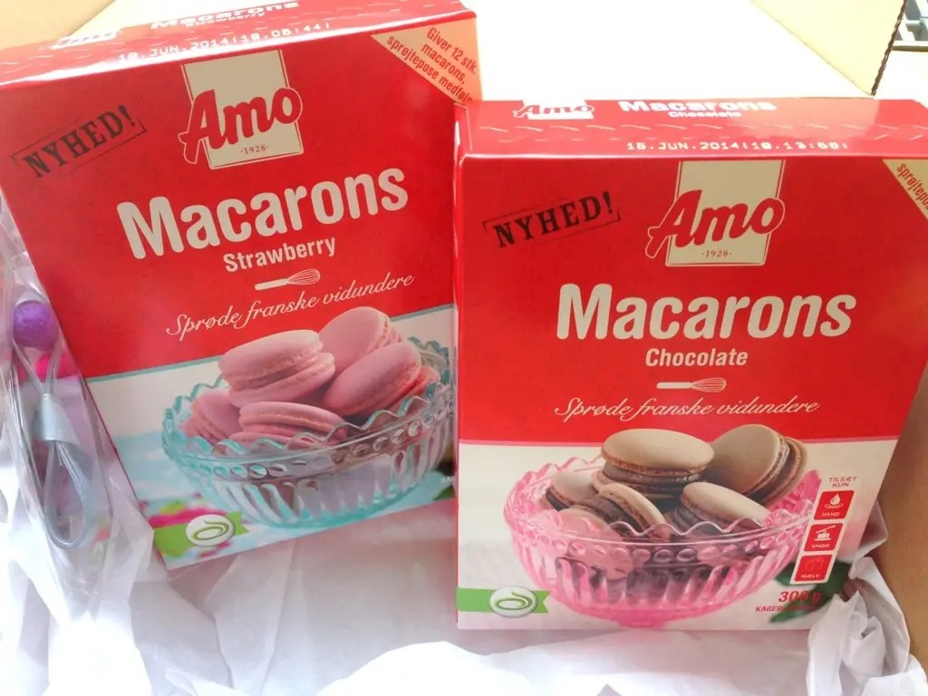 Test af Amo macarons kager