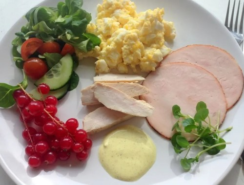 Low carb frokost
