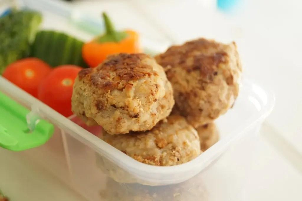Minifrikadeller til madpakken