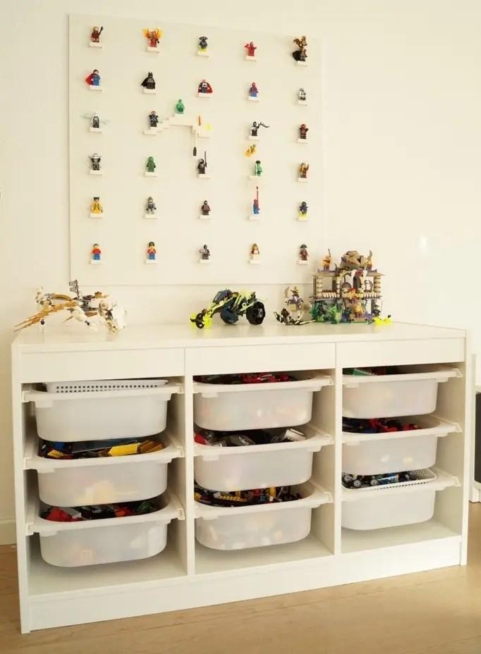 Sådan laver man en Lego-væg