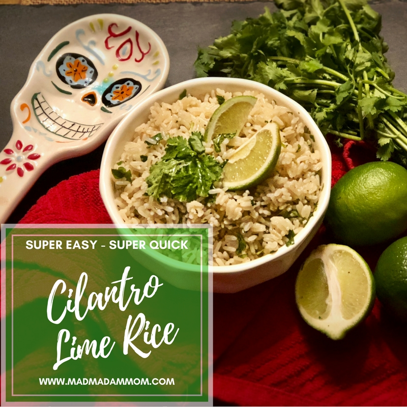 Food: Instant Pot - Cilantro Lime Rice (Chipotle Copy Cat)