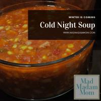 Food: Instant Pot/Crock Pot: Cold Night Soup