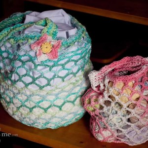 Mad Market Bag Pattern-Small and Large
