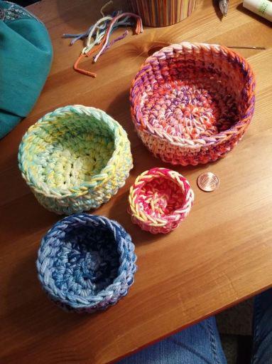 Crochet Nesting Bowls Pattern
