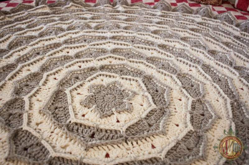 Crochet Throw Blanket