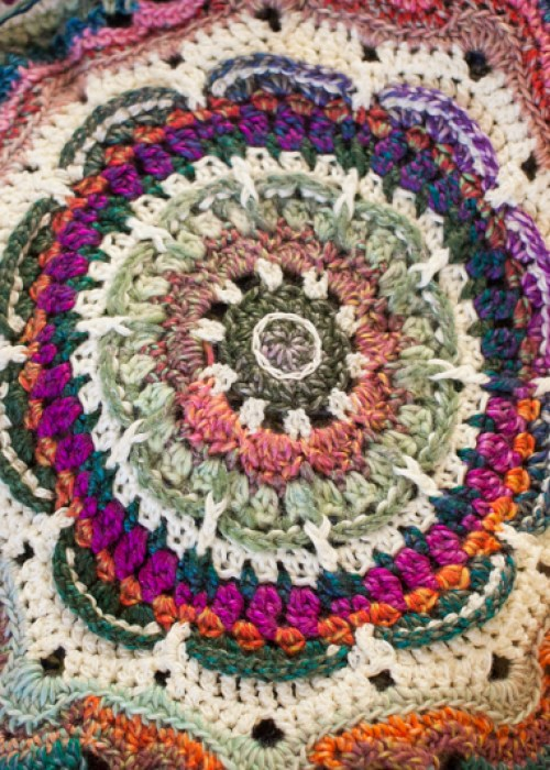 Wow. Less than a week to get my Bohemian Crochet Christmas Done!
