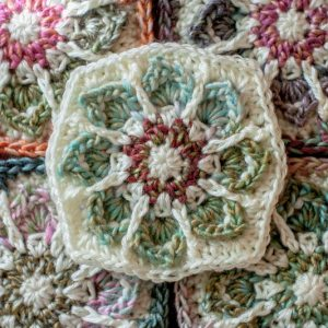 Next! More Yarn Choices for Winter Flower Granny