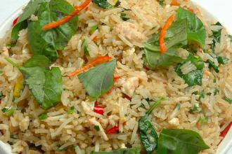 Basil fried rice