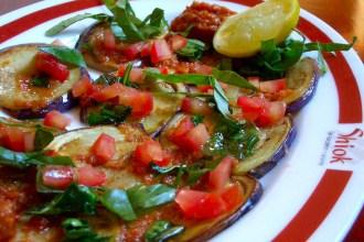 Terong Balado (Eggplant in chilli sauce)