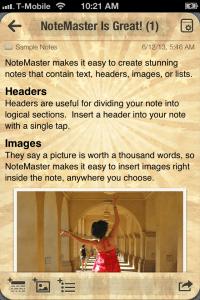 notemaster