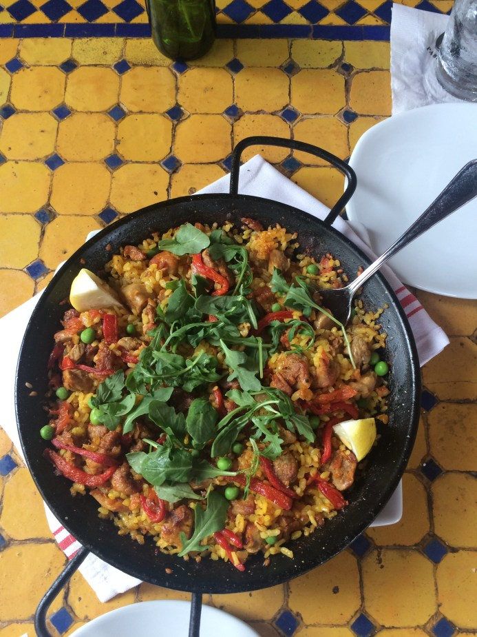 Paella from Ceviche in St. Petersburg, FL
