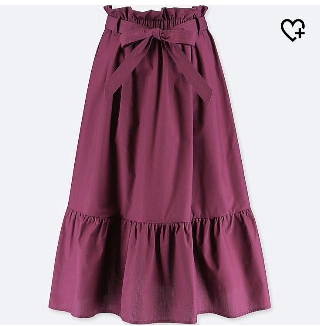 Ribbon Frill Skirt
