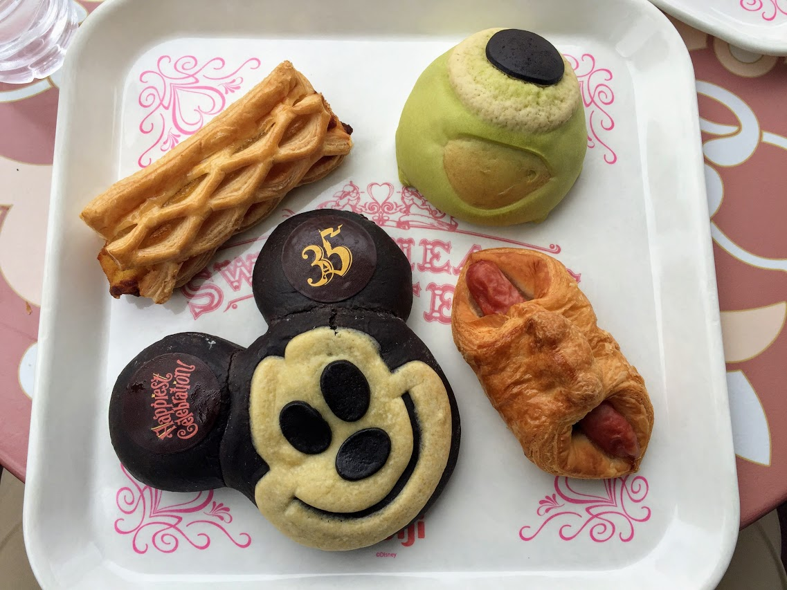The Food of Tokyo Disney