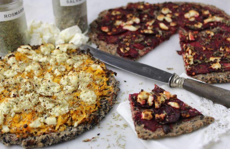 Glutenfri pizza - Vegansk opskrift - Mad med glød