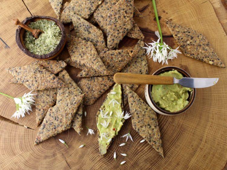 Kiksede knækbrød - Glutenfri opskrift - Mad med glød