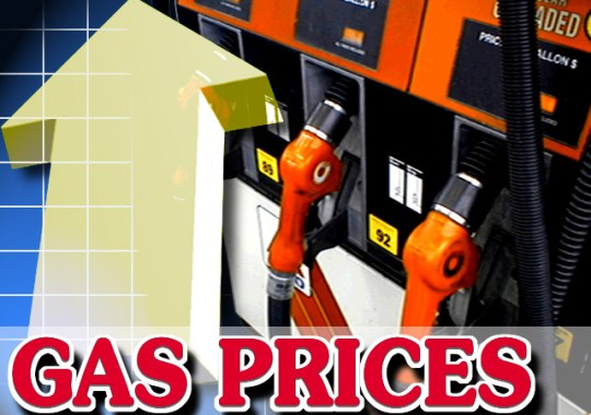 gas prices to climb